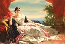 1843 Leonilla, Princess of Sayn-Wittgenstein-Sayn by Franz Xaver Winterhalter (Getty Museum - Los Angeles, California USA)