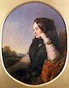 1846 Eugénie Countess of Teba at age of 20 by Abraham Solomon (location unknown to gogm)