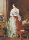 ca. 1847 Angela Georgina Burdett-Coutts by Sir William Charles Ross (National Portrait Gallery, London)