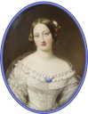 1848 Alexandrine of Baden by Sir William Charles Ross (Royal Collection) Wm despot