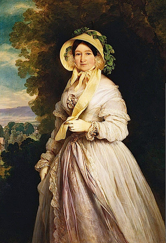 1848 Grand Duchess Anna Feodorovna by Franz Xavier Winterhalter (Royal Collection)