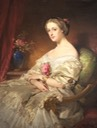 1850 Countess of Beaussier, née Marie Pauline Galichon, by Édouard-Louis Dubufe (Musée des Ursulines, Mâcon, Bourgogne-Franche-Comté, France) UPGRADE From history-of-fashion.tumblr.com:post:116040664949:1850-édouard-louis-dubufe-contess-of
