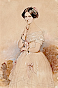 1851 Carola Vasa, Queen of Saxony