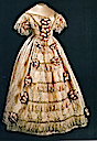 1851 Dress worn by Queen Victoria at the Great Exhibition