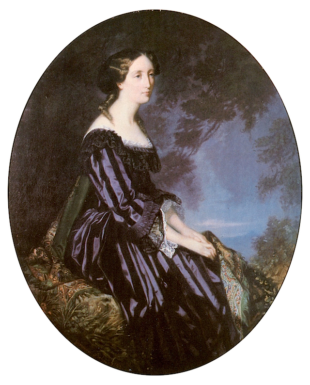 1852 Olga Wurttemberg by G. bohn (private collection)