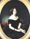 1853 Baroness of Weisweiller by Federico de Madrazo y Kuntz (Musée Bonnat, Bayonne France)