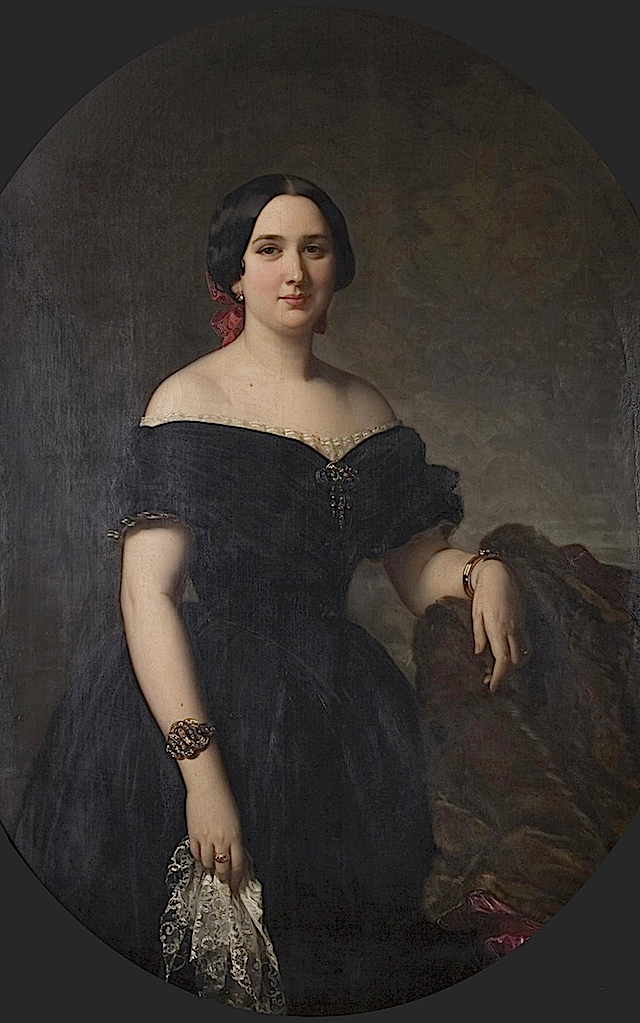1853 Amelia de Vilanova y de Nadal by Federico Madrazo y Kunz (location unknown to gogm) From ericab16's 1837-1888 portraits in Webshots
