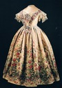 1855 Dress worn by Queen Victoria during her visit to Paris
