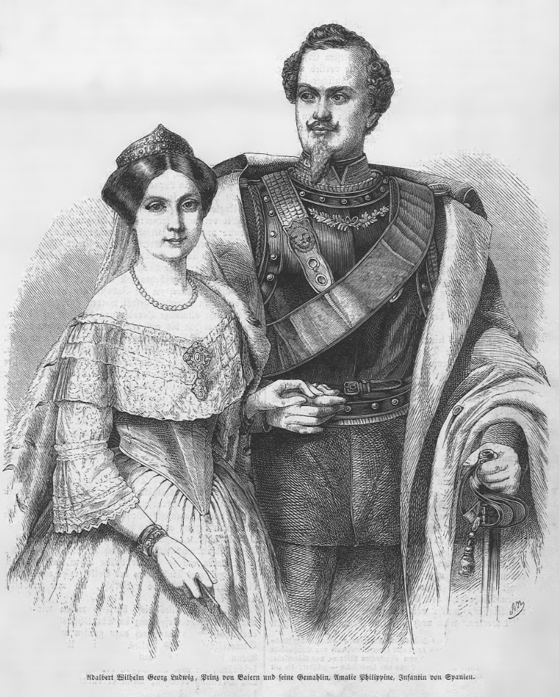 1856 (25 August) Illustrirte Zeitung No. 0698 vom 15. November Infanta  Amalia's wedding