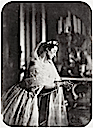 1856 Empress Eugénie praying by Gustave Le Gray close up