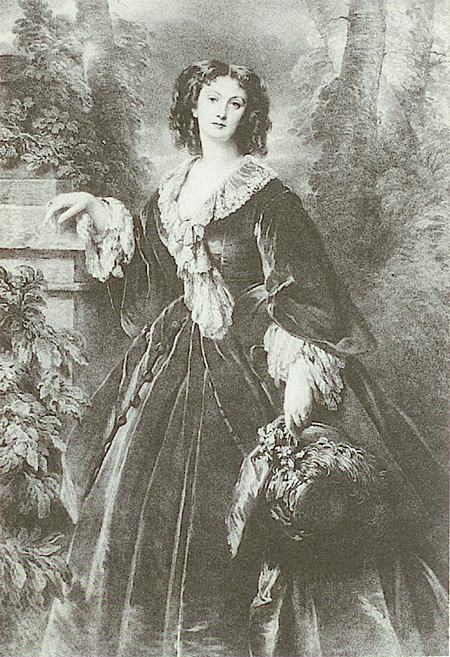 1856 Maria Vorontsova by Franz Xaver Winterhalter (location unknown to gogm)