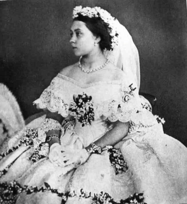 1858 Princess Royal Victoria S Wedding Dress