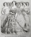 1858 Princess Royal Victoria and her bridesmaids From avictorian.com/royal_nursery6.html X 2