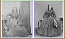 1859-1861 Isabella Grace Maude holding a hat (Victoria and Albert Museum - London, UK) detint X 2 lower edge and corners fixed