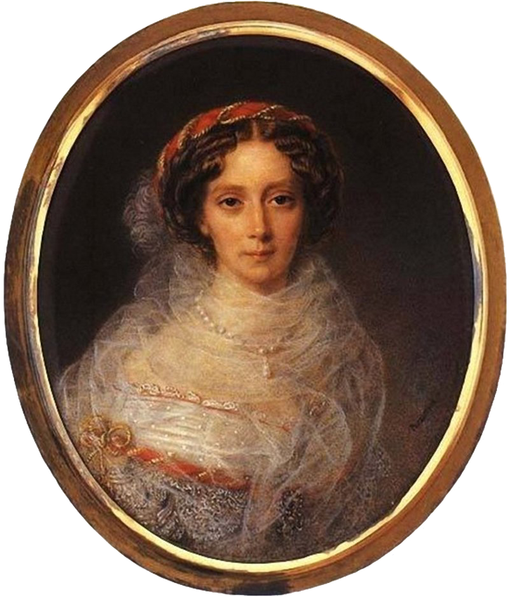 1859 Empress Maria Alexandrovna by Peter Ernst Rockstuhl (location ?) From aw-laurendet.tumblr.com-post-158056949835-adini-nikolaevna-empress-maria-alexandrovna-of