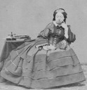 1860 Queen Victoria by Mayall
