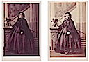 1860 (8 October) Augusta Wilhelmina Louisa, Duchess of Cambridge colored card