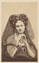 1861-1867 Countess de Castiglione as La Dogaresse (wife of a Doge) by Pierre Louis Pierson