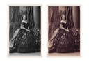 1861 (26 June) Susan Roxburghe by Camille Silvy combined altered and original images from Paul Frecker