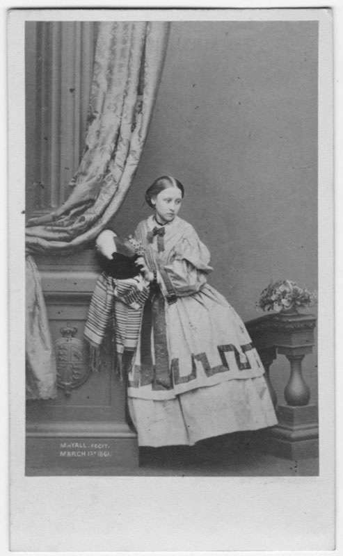 1861 Pss Louise cdv by Mayall EB