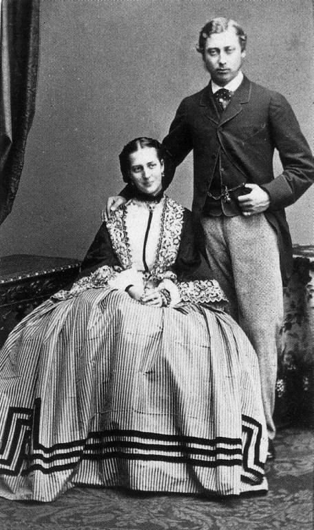 1862 engagement photo of princess alexandra probably by f deron of