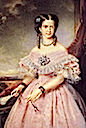 1862 Maria Pia wearing a crinoline by ? (location unknown to gogm)