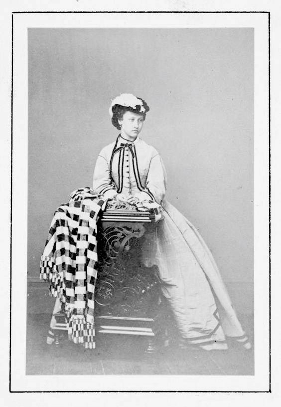 1863 Princess Louise, Osborne by ? (Royal Collection) From pinterest.com:dianariveraguil:royals: removed flaws and print in surround detint increased contrast