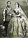 1863 Alexandra's wedding from Harper's Weekly