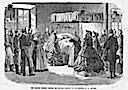 1863 Eugenie visiting cholera patients out take from the Illustrated Times