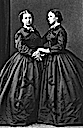 1864 Princesses Helena and Louise, probably by Hills and Saunders