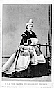 1865 Crown Princess Victoria holding a muff
