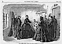 1865 Eugenie visiting young prisoners at La Roquette from Illustrated Times