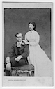 1866 Minnie and Grand Duke Alexander engagement photo by Georg E. Hansen