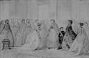 1866 Presentation of the ladies of Châlons to the Empress by François Claudius Compte-Calix (Château de Compiègne)