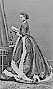 1866 Princess Alexandra of Wales - Disderi session Nr. 2/8
