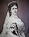 1867 Empress Elisabeth photo by Emil Rabending