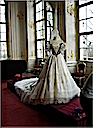 1867 Replica of Worth dress worn by Empress Elisabeth at Hungarian coronation (Gödöllő Castle, Pest Hungary)