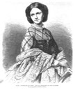 1868 Carola, Kronpinzessin von Sachsen after photo by Hanns Hanfstängl