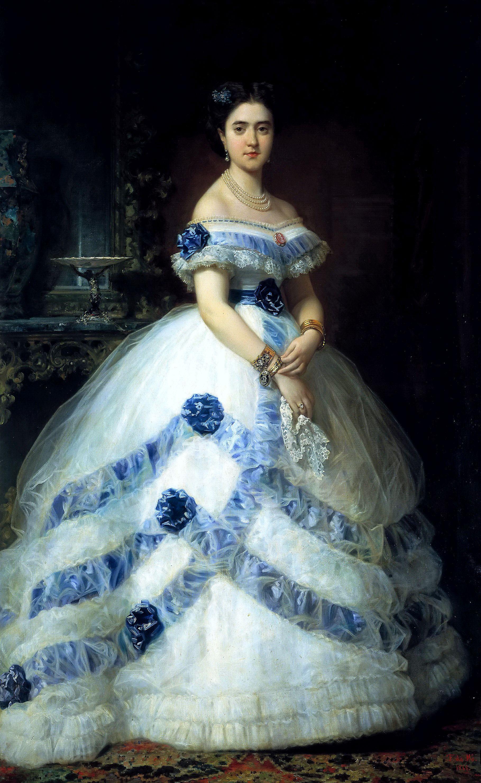 1868 Isabel 193 Lvarez Montes Duquesa De Castro Enr 237 Quez And