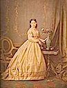 1868 (estimated) Infanta Isabel colorized photo print