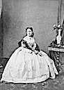 1868 (estimated) Isabel la Chata seated