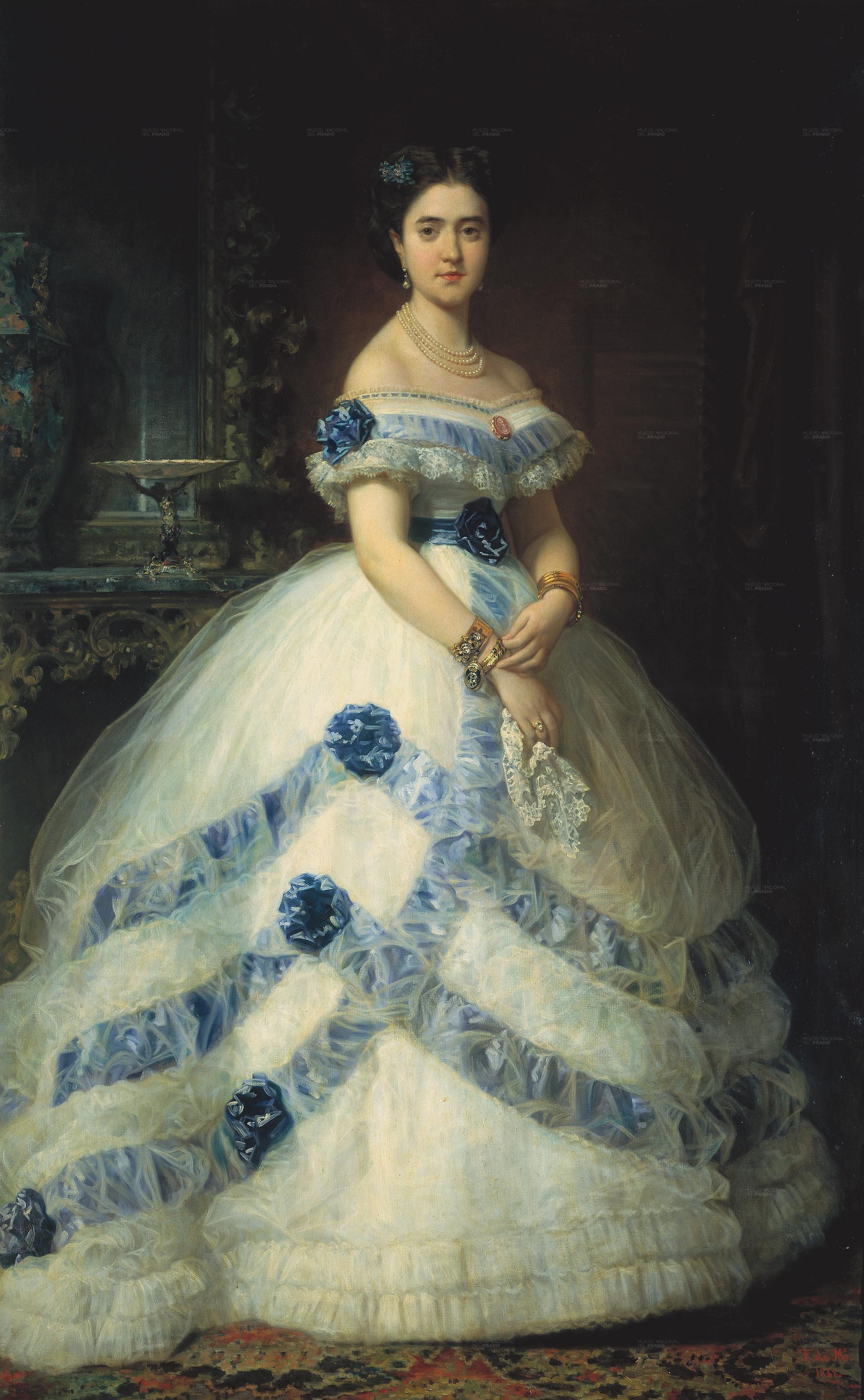 ... II marquesa de Valderas, (1868