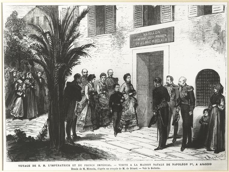 1869 le monde illustr the trip of the empress and. Black Bedroom Furniture Sets. Home Design Ideas