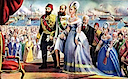 1869 November Empress Eugénie at the opening of the Suez Canal