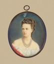 ca. 1870 Maria Alexandrovna miniature portrait by ? (location unknown to gogm)