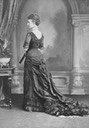 1870s (late) Princess of Wales Alexandra from back quarter From Pinterest search detint