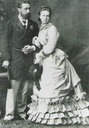 Marie Alexandrovna and Alfred, Duke of Edinburgh