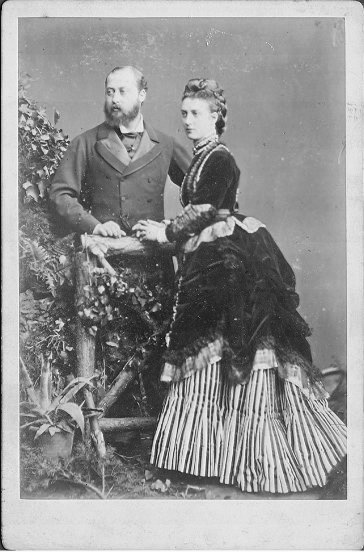 1872 Alexandra Cabinet Card By Hills U0026 Saunders EB Detint