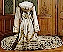 1873 Coronation dress of Sophia of Sweden (Livrustkammaren, Royal Palace - Stockholm Sweden)