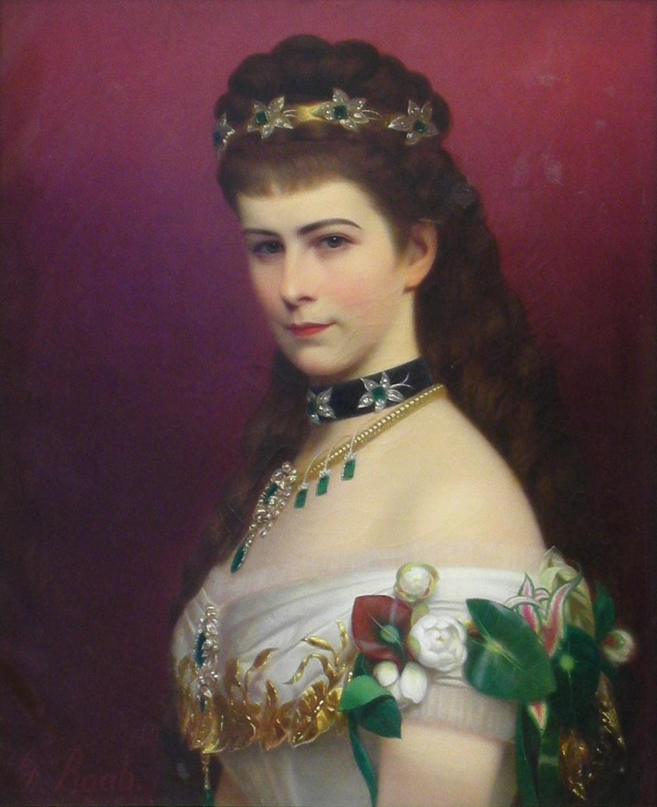 Galeria: 1873ca. Sissi Portrait By Georg Raab (Lwowska Galeria